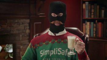 SimpliSafe TV Spot, 'At Home With Robbert: Eggnog'