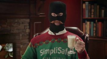 SimpliSafe TV Spot, 'At Home With Robbert: Eggnog'