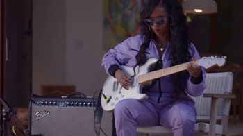 Guitar Center TV Spot, 'How the Strat Inspires Her Sound' Featuring H.E.R. - Thumbnail 7