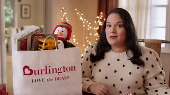 Burlington TV Spot, 'Cristina Knows Stretching Her Dollar Will Save the Christmas Season'