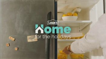 Lowe's TV Spot, 'Home for the Holidays: Whirlpool Appliances' - Thumbnail 1