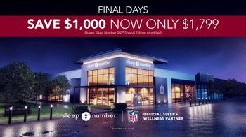 Sleep Number Veterans Day Sale TV Spot, 'Final Days: Save $1,000' - Thumbnail 7