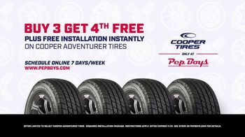 PepBoys TV Spot, 'Doorway to the World: Cooper Tires' - Thumbnail 6