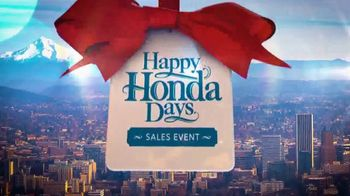 Happy Honda Days Sales Event TV Spot, 'Holiday Clearance: Best Value' [T2] - Thumbnail 2