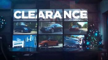 Happy Honda Days Sales Event TV Spot, 'Holiday Clearance: Best Value' [T2] - Thumbnail 4