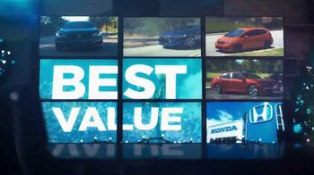 Happy Honda Days Sales Event TV Spot, 'Holiday Clearance: Best Value' [T2] - Thumbnail 6