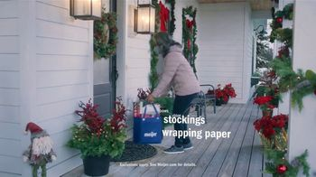 Meijer Home Delivery TV Spot, 'Holidays: All Your Lists'