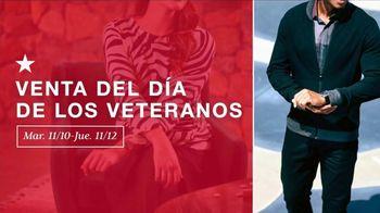 Macy's Venta del Día de los Veteranos TV Spot, 'Compra para las fiestas' [Spanish] - Thumbnail 1