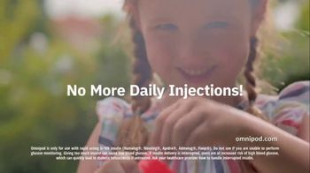 Omnipod TV Spot, 'Daily Injection: Tubeless' - Thumbnail 4