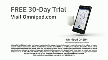Omnipod TV Spot, 'Daily Injection: Tubeless' - Thumbnail 9
