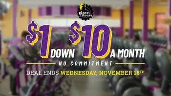 Planet Fitness TV Spot, 'Get Moving and Check the Crowd Meter: $1 Down $10 a Month' - Thumbnail 1