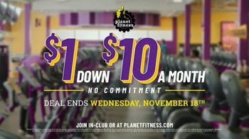 Planet Fitness TV Spot, 'Get Moving and Check the Crowd Meter: $1 Down $10 a Month' - Thumbnail 10
