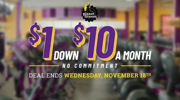 Planet Fitness TV Spot, 'Get Moving and Check the Crowd Meter: $1 Down $10 a Month' - Thumbnail 2