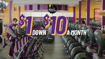 Planet Fitness TV Spot, 'Get Moving and Check the Crowd Meter: $1 Down $10 a Month' - Thumbnail 8