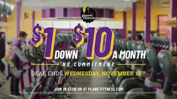 Planet Fitness TV Spot, 'Get Moving and Check the Crowd Meter: $1 Down $10 a Month' - Thumbnail 9