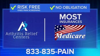 Arthritis Relief Centers TV Spot, 'Don't Suffer From Chronic Knee Pain' - Thumbnail 7