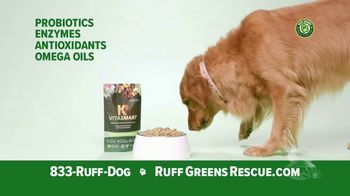 Ruff Greens TV Spot, 'Live Nutrition: Try for Free'