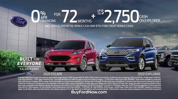 Ford Built for Everyone Sales Event TV Spot, 'Vehicles for the People' Song by Eric Starczan [T2] - Thumbnail 10