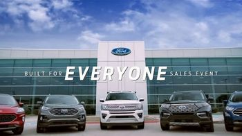 Ford Built for Everyone Sales Event TV Spot, 'Vehicles for the People' Song by Eric Starczan [T2] - Thumbnail 4