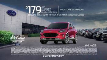 Ford Built for Everyone Sales Event TV Spot, 'Vehicles for the People' Song by Eric Starczan [T2] - Thumbnail 6
