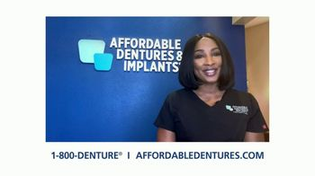 Affordable Dentures TV Spot, 'Go Ahead and Smile With New Dental Implants' - Thumbnail 9