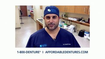Affordable Dentures TV Spot, 'Go Ahead and Smile With New Dental Implants' - Thumbnail 3