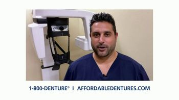 Affordable Dentures TV Spot, 'Go Ahead and Smile With New Dental Implants' - Thumbnail 8