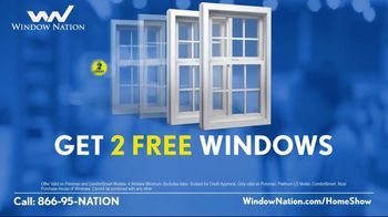 Window Nation Virtual Home Show Extravaganza TV Spot, 'Buy Two, Get Two Free' - Thumbnail 4