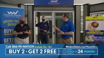 Window Nation Virtual Home Show Extravaganza TV Spot, 'Buy Two, Get Two Free' - Thumbnail 5