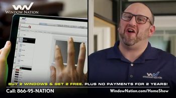 Window Nation Virtual Home Show Extravaganza TV Spot, 'Buy Two, Get Two Free' - Thumbnail 6