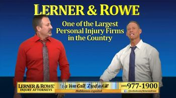 Lerner and Rowe Injury Attorneys TV Spot, 'Hype Man' Featuring Flava Flav - Thumbnail 3