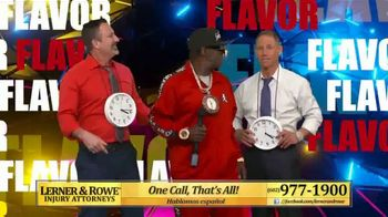 Lerner and Rowe Injury Attorneys TV Spot, 'Hype Man' Featuring Flava Flav - Thumbnail 7