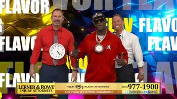 Lerner and Rowe Injury Attorneys TV Spot, 'Hype Man' Featuring Flava Flav - Thumbnail 8