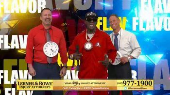 Lerner and Rowe Injury Attorneys TV Spot, 'Hype Man' Featuring Flava Flav - Thumbnail 9
