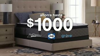 Ashley HomeStore The Ultimate Event TV Spot, 'Ahorra hasta $1,000 dólares' [Spanish]