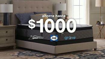 Ashley HomeStore The Ultimate Event TV Spot, 'Ahorra hasta $1,000 dólares' [Spanish]