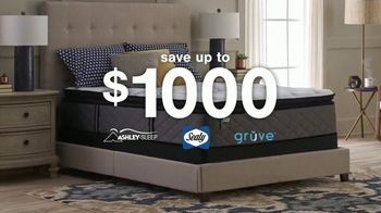 Ashley HomeStore Ultimate Event TV Spot, 'Mattresses: Save Up to $1,000'