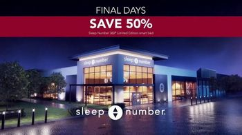 Ultimate Sleep Number Event TV Spot, 'Final Days: Snoring: Save 50% and 0% Interest' - Thumbnail 7