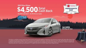 Toyota Presidents Day Sales Event TV Spot, 'Lincoln's Bicycle: Venza and Prius Prime' [T2] - Thumbnail 5
