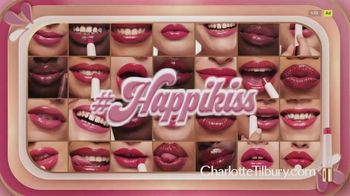 Charlotte Tilbury Hyaluronic Happikiss Hydrating Lipstick Balms TV Spot, 'Happiness!'