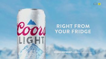 Coors Light TV Spot, 'Right From Your Fridge' Song by Berry Lipman Singers - Thumbnail 10