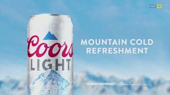 Coors Light TV Spot, 'Right From Your Fridge' Song by Berry Lipman Singers - Thumbnail 9