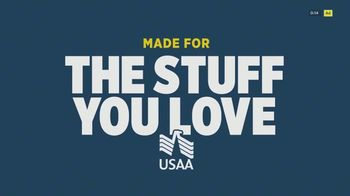 USAA Renters Insurance TV Spot, 'Made for the Stuff You Love' - Thumbnail 1