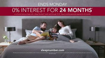 Ultimate Sleep Number Event TV Spot, 'Final Days: Save 50% and No Interest for 24 Months' - Thumbnail 9