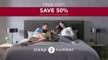 Ultimate Sleep Number Event TV Spot, 'Final Days: Save 50% and No Interest for 24 Months' - Thumbnail 8