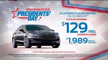 Ford Presidents Day TV Spot, 'In Honor: Fusion' [T2] - Thumbnail 3
