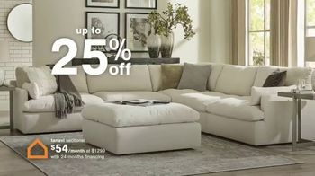 Ashley HomeStore Ultimate Event TV Spot, '25% Off and No Interest' - Thumbnail 4