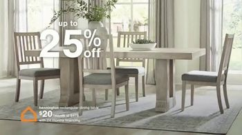 Ashley HomeStore Ultimate Event TV Spot, '25% Off and No Interest' - Thumbnail 5