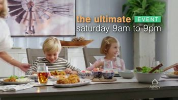 Ashley HomeStore Ultimate Event TV Spot, 'Save 20% Storewide and Financing' - Thumbnail 1