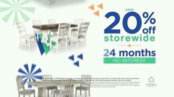 Ashley HomeStore Ultimate Event TV Spot, 'Save 20% Storewide and Financing' - Thumbnail 3